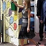 The Easy Trick Queen Letizia Used to Look Taller Is Genius