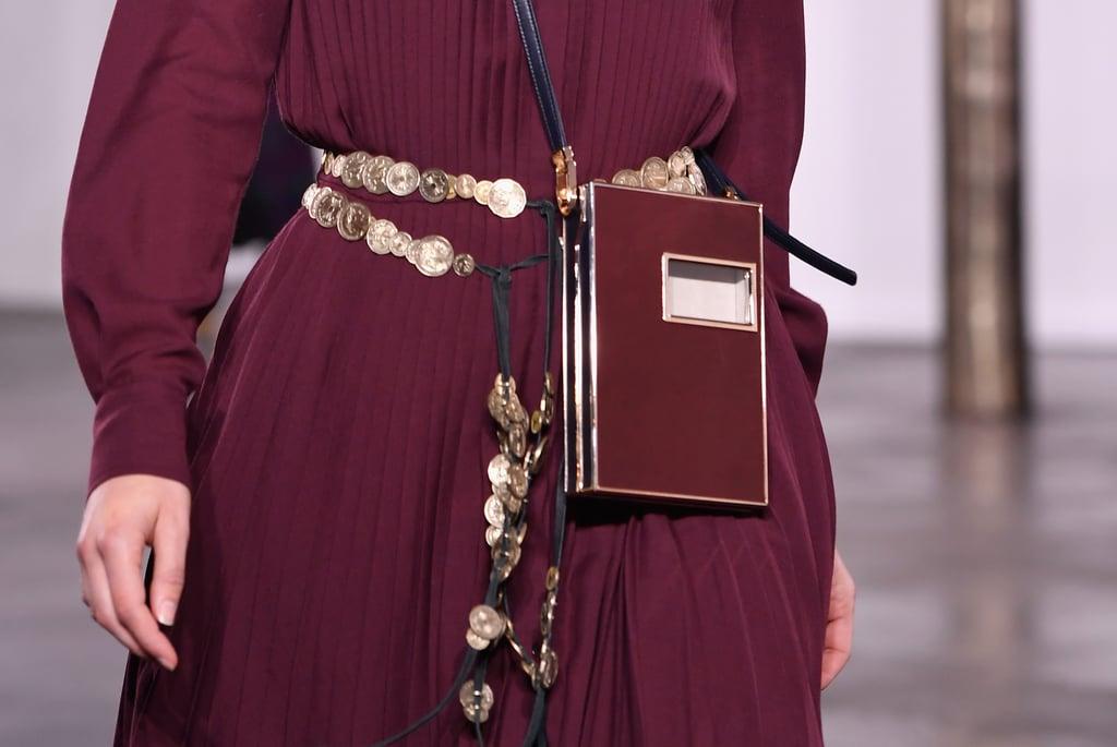 A Belt on the Gabriela Hearst Runway at New York Fashion Week