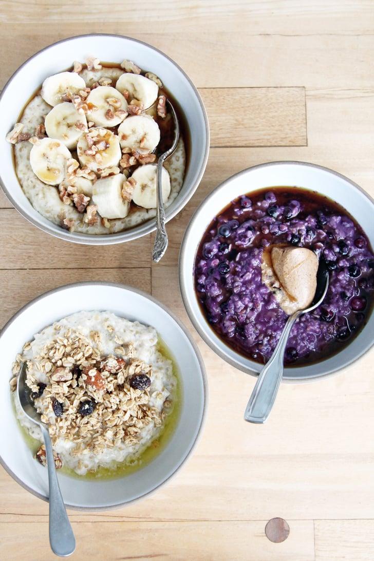 Breakfast Ideas Oatmeal Bowls