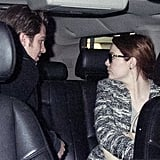 Emma Stone and Andrew Garfield got into a car together.