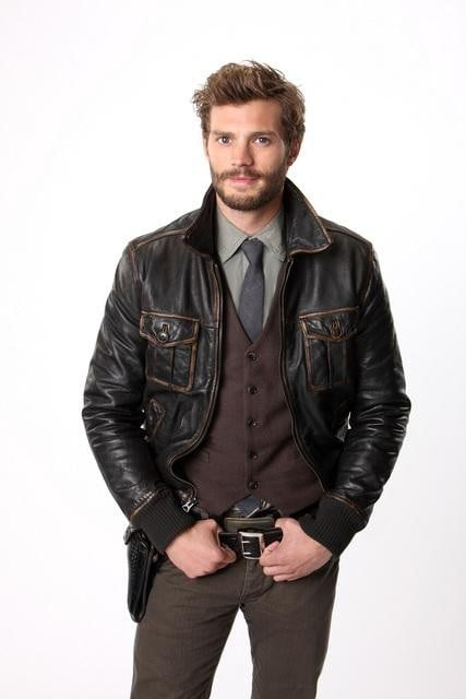 Jamie Dornan as Sheriff Graham on ABC's Once Upon a Time.