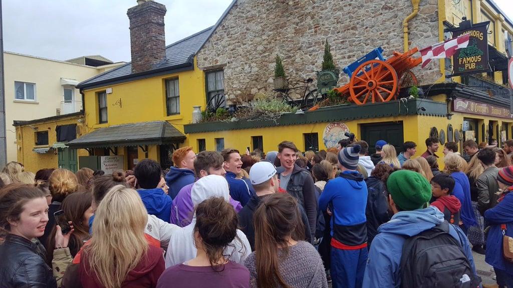 Ed Sheeran Shooting Video in Galway April 2017