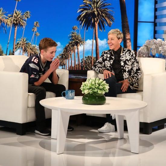 Selfie Kid Talking to Justin Timberlake on The Ellen Show