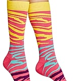 Zebra Crew Socks