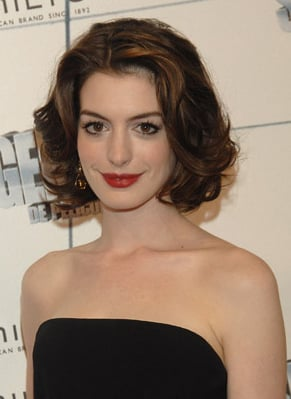 Photo of Anne Hathaway Commercial Advert for Lancome ...