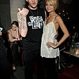 Joel Madden and Nicole Richie in 2007