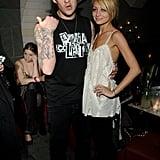 Joel Madden et Nicole Richie en 2007
