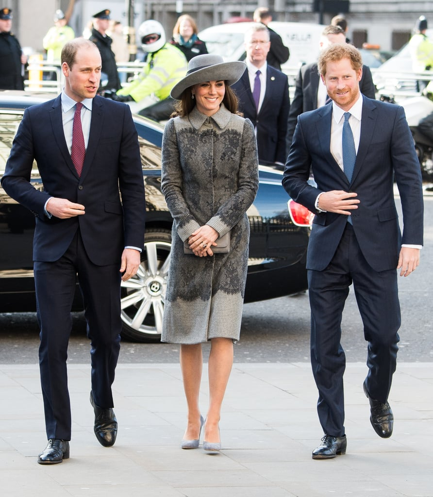 Harry and his family made a regal appearance in London as they attended Commonwealth Observance Day in March.
