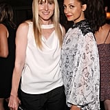 Nicole Richie and Amy Astley posed for a photo.