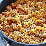 1-Pot BBQ Chicken Pasta