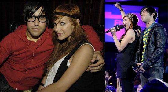 Photos of Pete Wentz, Ashlee Simpson, Miley Cyrus, Pink, Anna Faris, John Norris at FNMTV and Lollapalooza