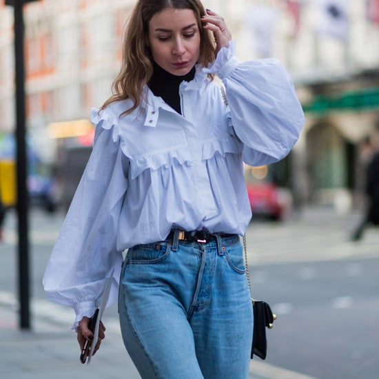 How to Wear the Blue Shirt Trend Spring 2017