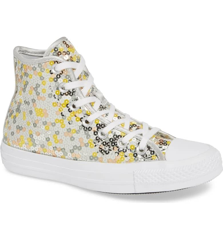 1301f7e2d3ed5 Converse Chuck Taylor All Star Sequin High Top Sneaker