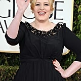 Adele Makes Her First Postbaby Appearance at the Golden Globes