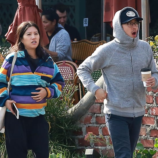 Steven Yeun and Joana Pak Getting Lunch in LA Pictures