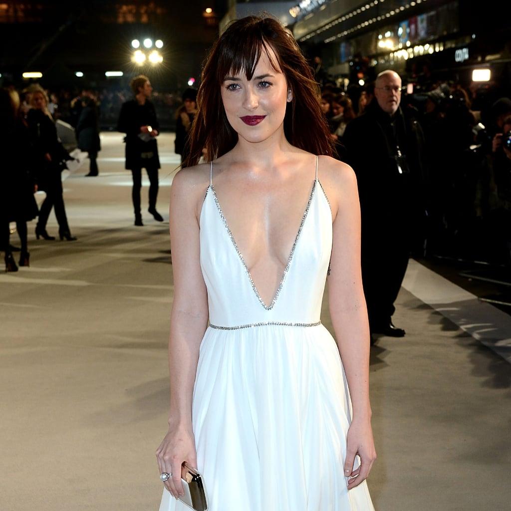 Dakota Johnson's Dress | 50 Shades of Grey UK Premiere