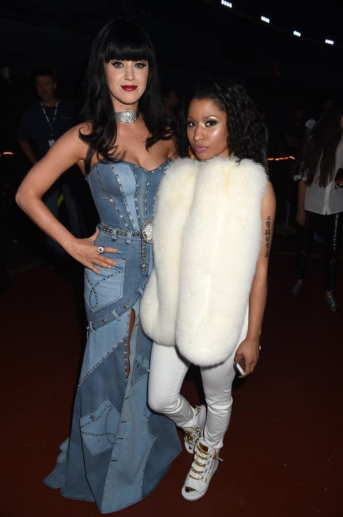 Katy Perry and Nicki Minaj