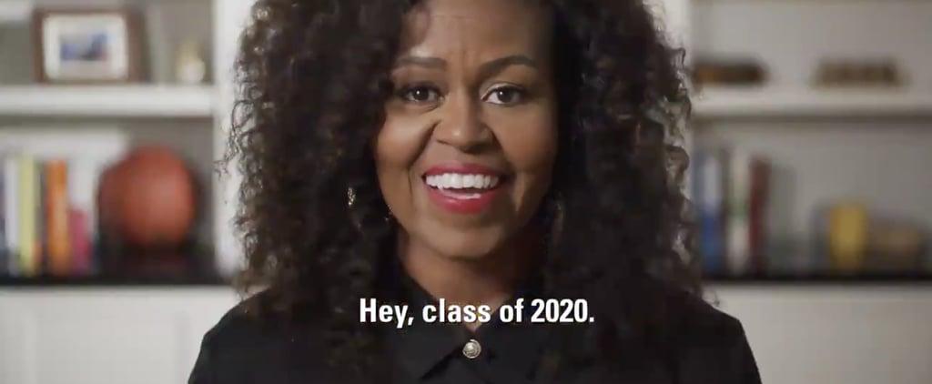 Watch Michelle Obama's MTV Prom-athon Speech   Video