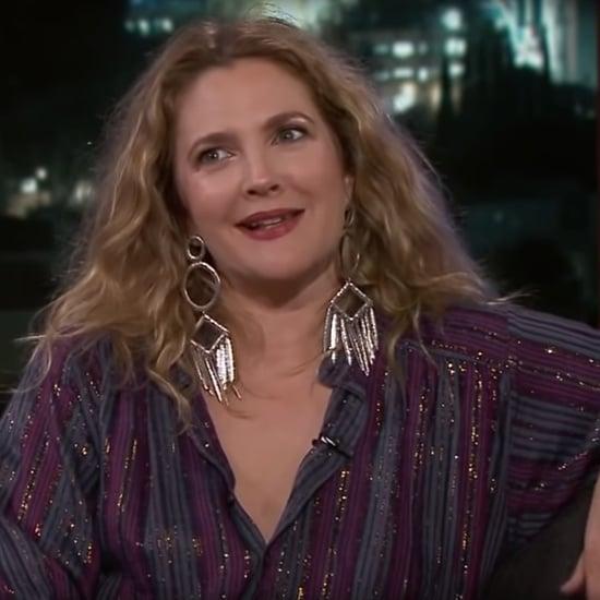 Drew Barrymore Talking About an Ex on Jimmy Kimmel Live