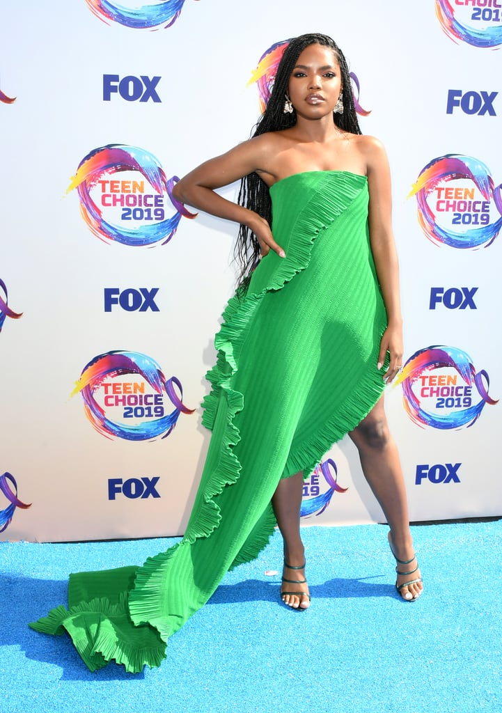 Ryan Destiny at the Teen Choice Awards 2019