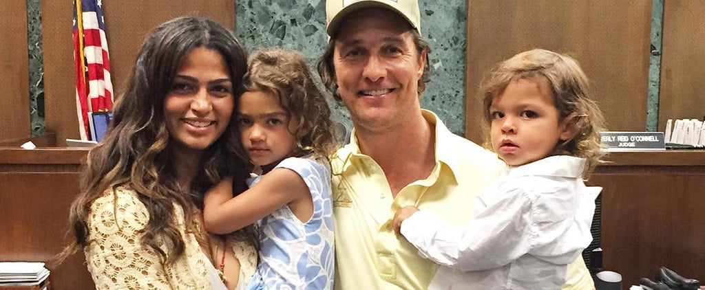 22 Photos of Camila Alves and Her Kids That Might Make Your Heart Explode