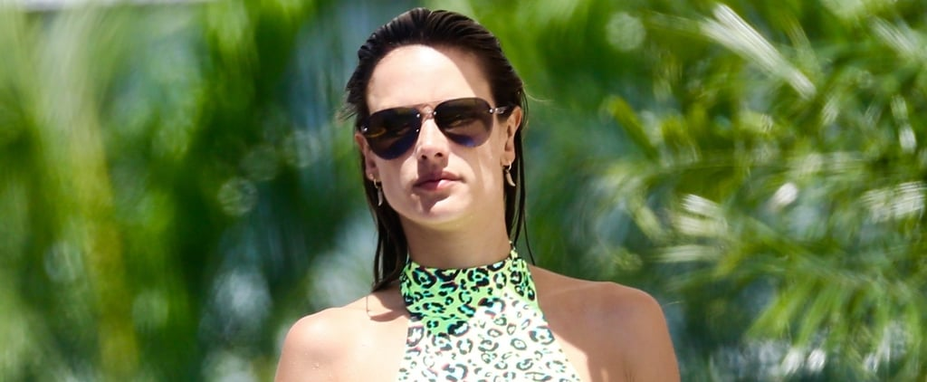Alessandra Ambrosio's Bikini Is So Bright, We Can Spot It All the Way From Brazil