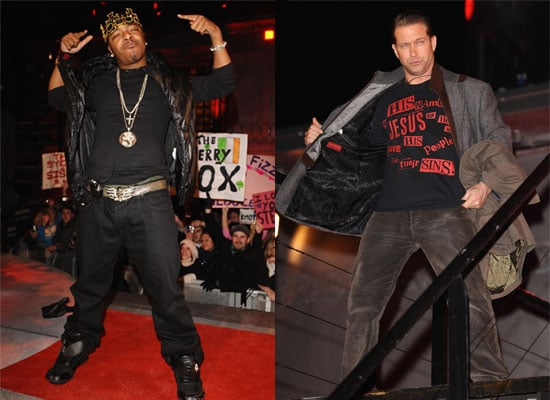 Photos of Stephen Baldwin and Sisqo Who Left the Celebrity Big Brother House in a Double Eviction