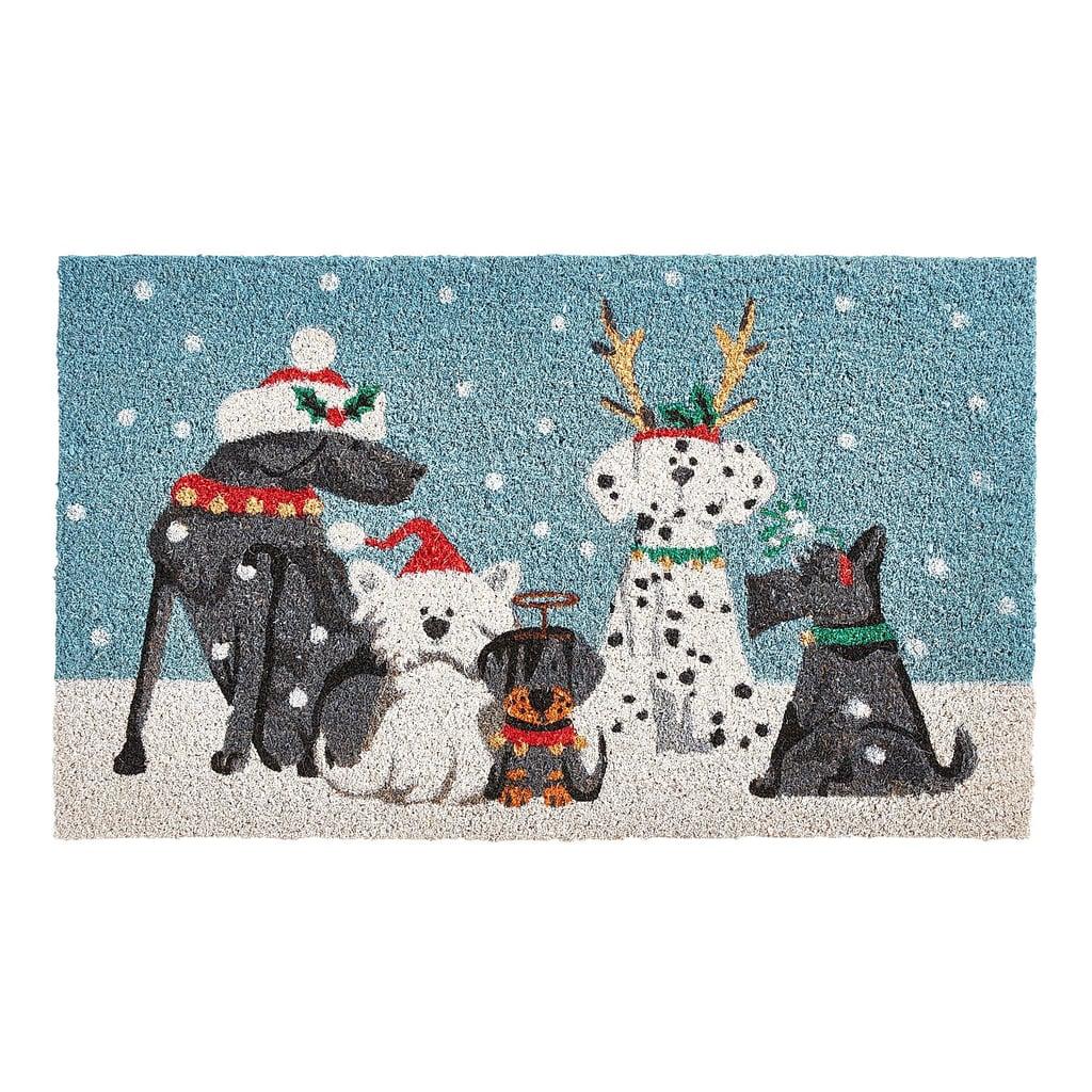 Holiday Pups Doormat