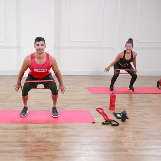 Live Workouts on POPSUGAR Fitness's Instagram, Week of 30/3