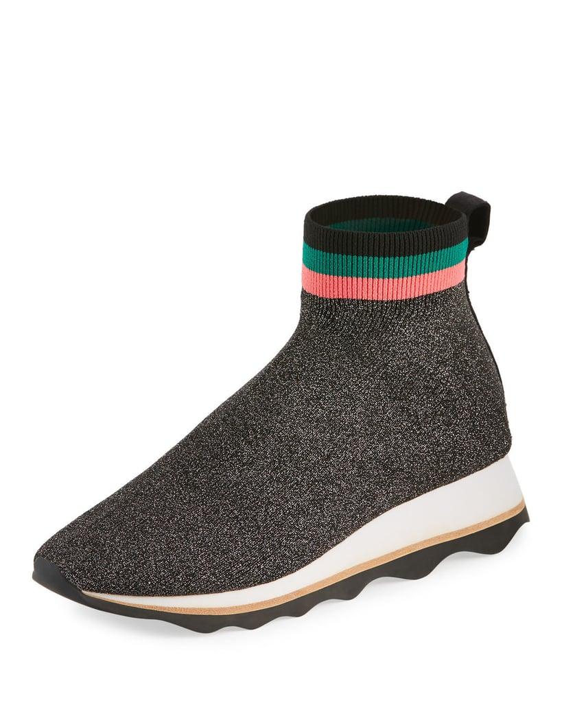 Loeffler Randall Scout Knit Sock Sneaker