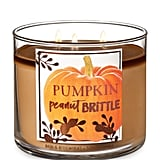 Pumpkin Peanut Brittle Three-Wick Candle