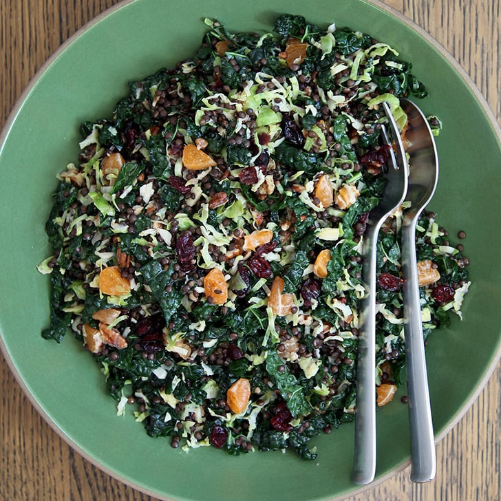 Brussels Sprout, Lentil, and Cranberry Salad
