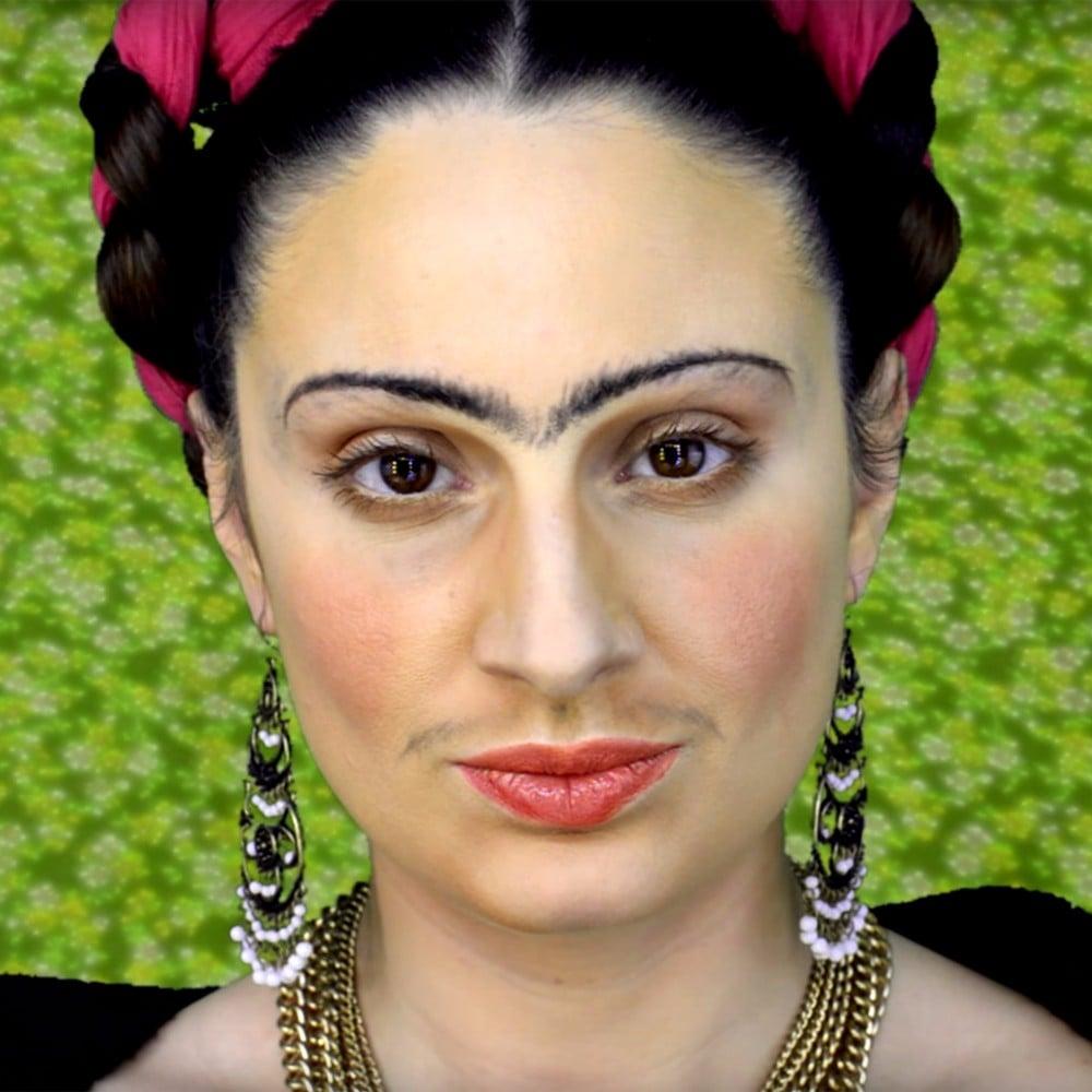 frida kahlo makeup tutorials | popsugar latina