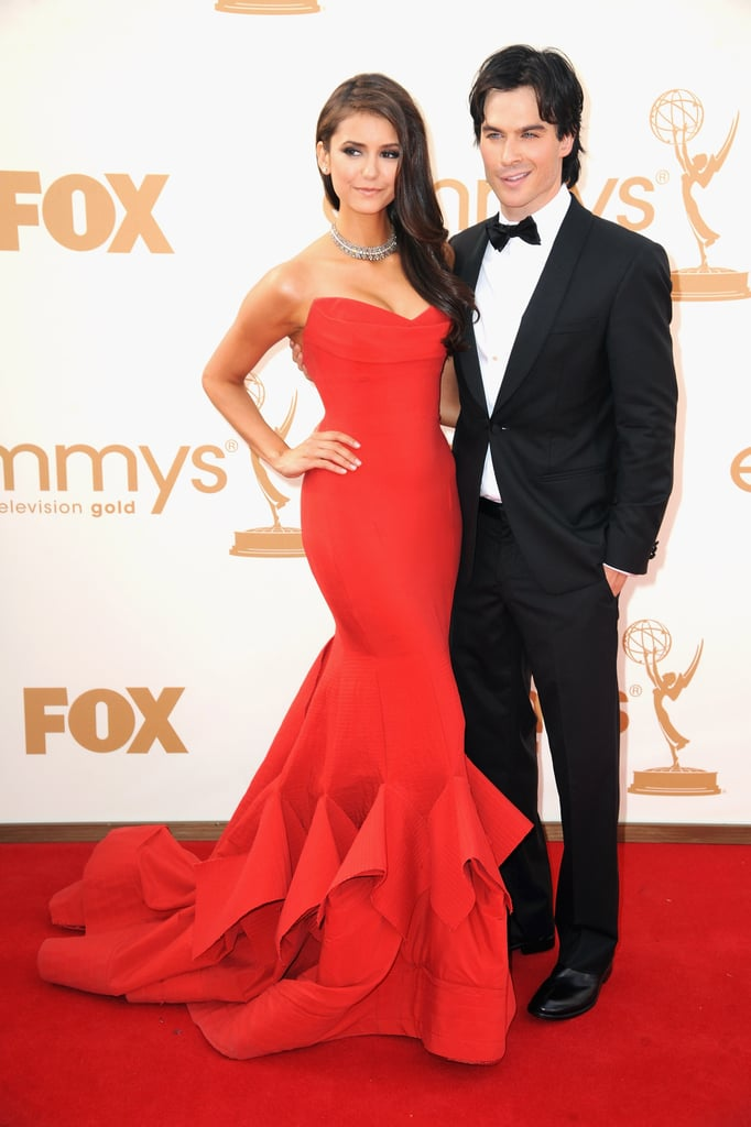 7. Nina and Ian's Hot Emmy Moment
