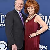 "Pictured: Reba McEntire and Anthony ""Skeeter"" Lasuzzo"