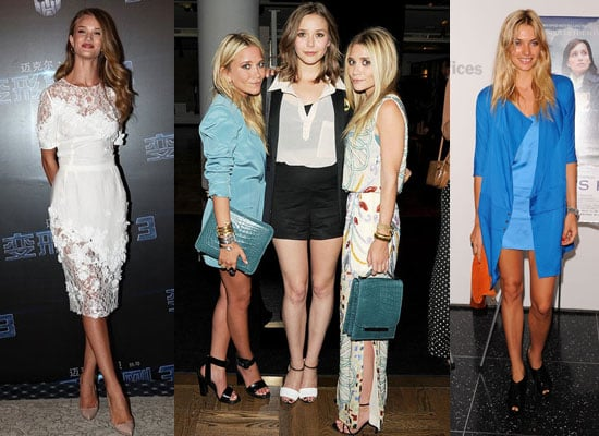 Top Ten Best Dressed Celebrities of the Week, including Blake Lively, Emma Watson, the Olsens and Rosie Huntington-Whiteley