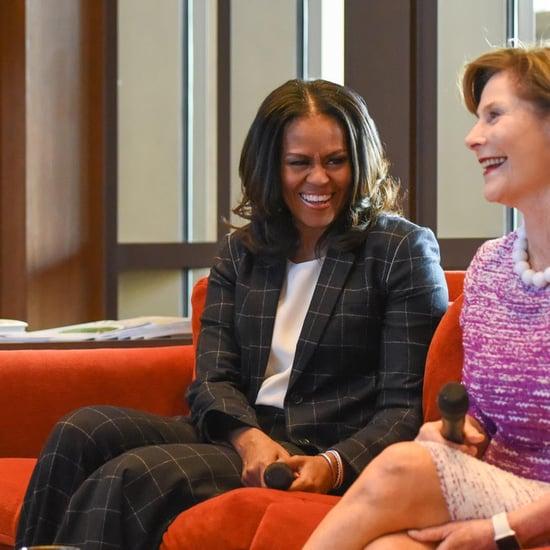 Michelle Obama's Plaid Suit