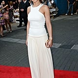 Cheryl Cole wowed in white Victoria Beckham.