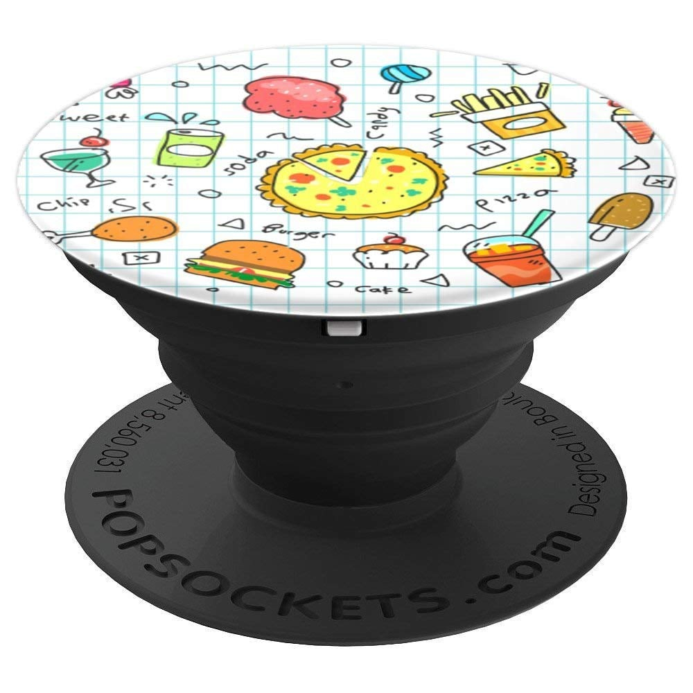Cute Food Doodle PopSocket