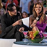 Audrina Patridge and Justin Bobby