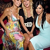 She joined Nicky Hilton to fete Paris at the release party for her album, Paris, in Miami in August 2006.