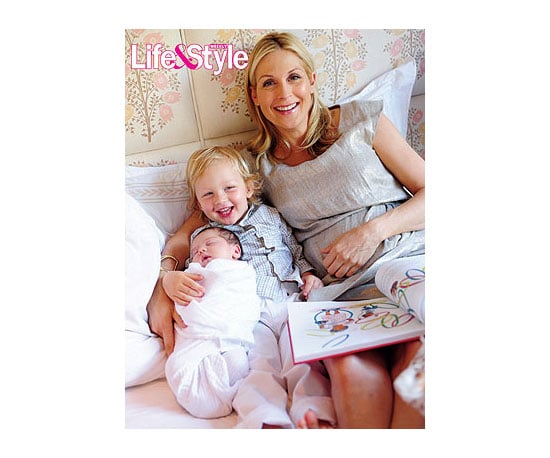 Kelly Rutherford and Hermes . . .
