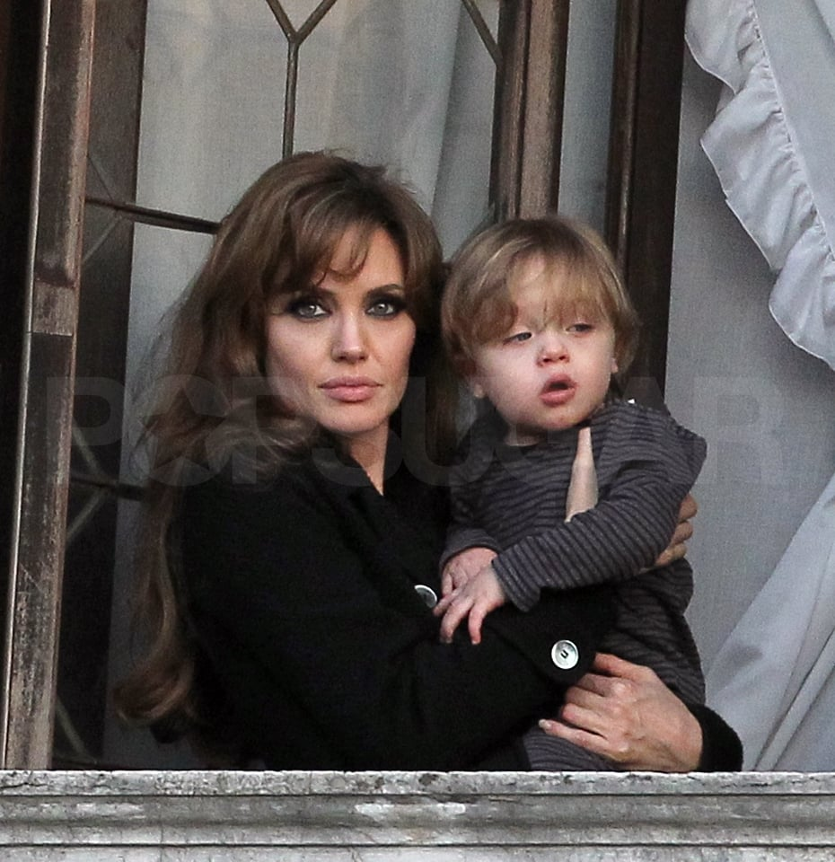 Photos of Angelina Jolie And Knox Jolie-Pitt