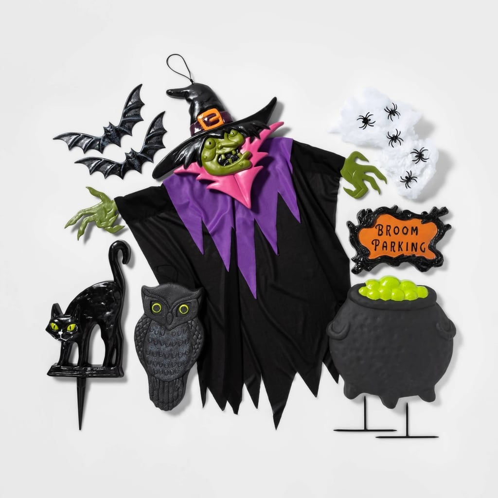 Witch Scene Setter Decorative Halloween Prop