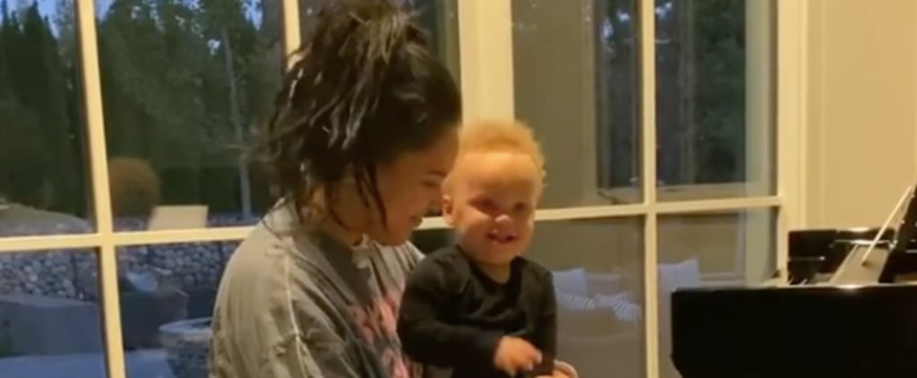 "Ayesha Curry Plays ""Baby Shark"" on Piano For Canon 