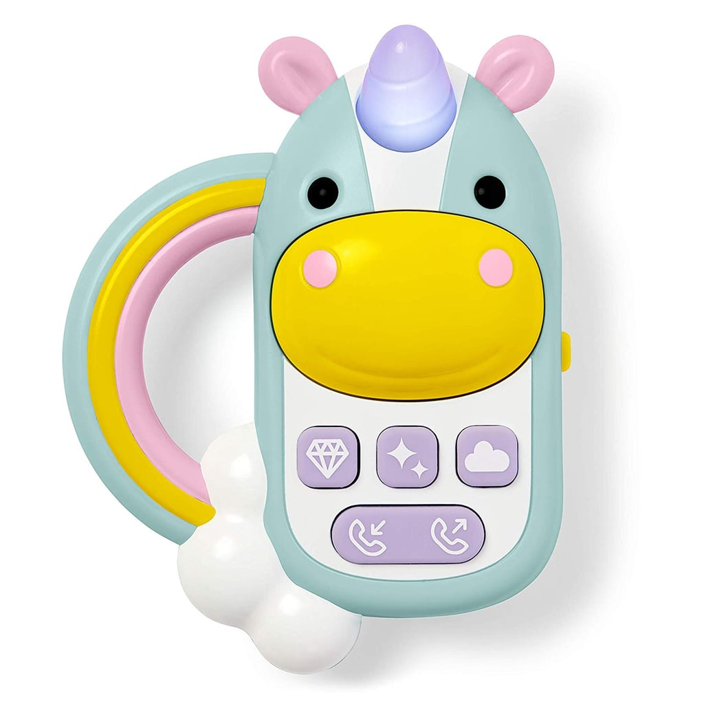 For Infants: Skip Hop Baby Cell Phone Toy, Zoo Unicorn
