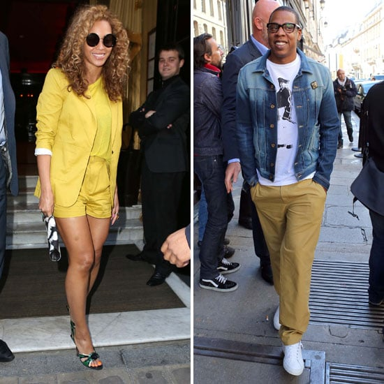 Jay-Z and Beyoncé Brighten Up the City of Lights