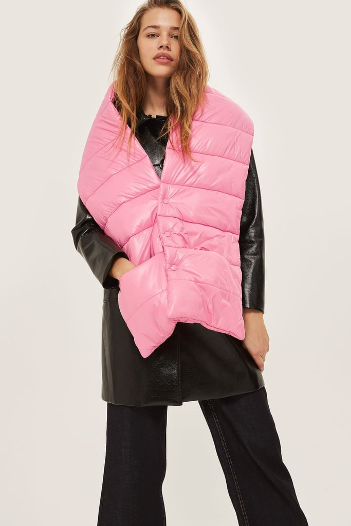 Topshop Puffer Scarf (£32)