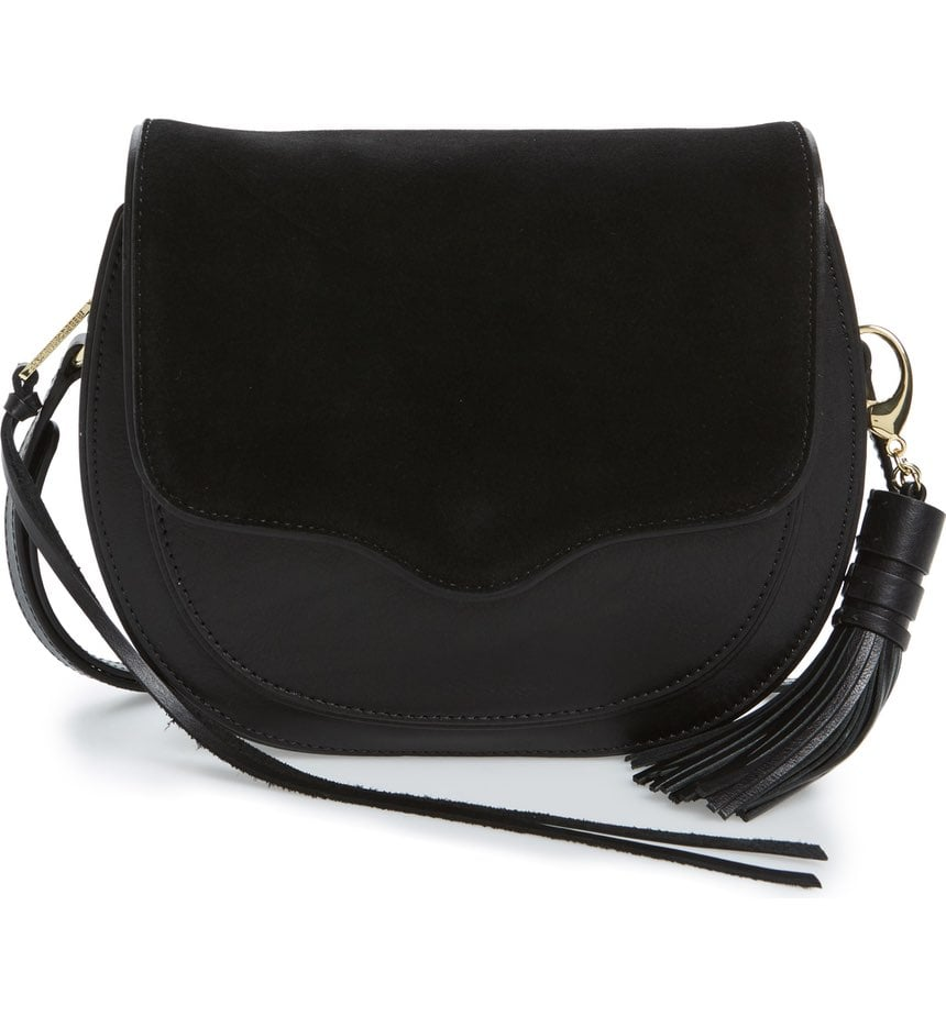When in doubt, go with a black crossbody bag to match all outfits. We love this one by Rebecca Minkoff ($245).