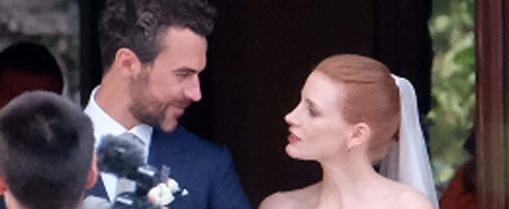 Jessica Chastain Wedding Pictures